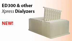 NEW ED300 and other Xpress Dialyzers