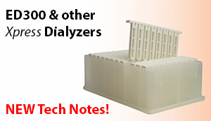 NEW ED300 and other Xpress Dialyzers Tech Notes